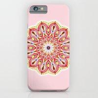Mandala Pink iPhone 6 Slim Case
