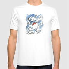 Stay Puft Mens Fitted Tee SMALL White