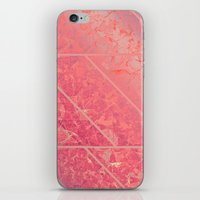 Pink Marble Texture G281 iPhone & iPod Skin