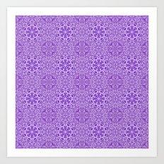 pattern illusion stereo Art Print