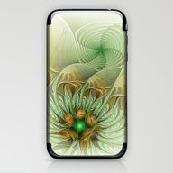Behind The Hills, Abstra… iPhone & iPod Skin