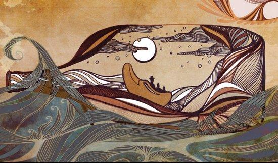 Winkin' Blinkin' & Nod Canvas Print