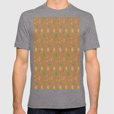 CHRISTMAS ART Mens Fitted Tee Tri-Grey SMALL