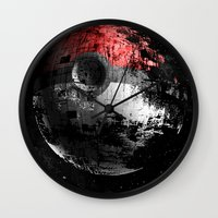 Poked To Death 3D Wall Clock