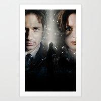 The X-Files Art Print