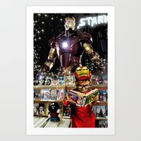 Iron Man: Dreaming Big Art Print