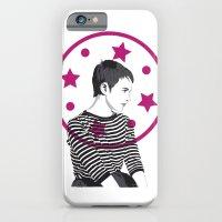 Jean Seberg//Black & White iPhone 6 Slim Case