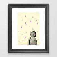 Taste the Rain Framed Art Print