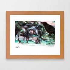 Death of an Ideal Framed Art Print