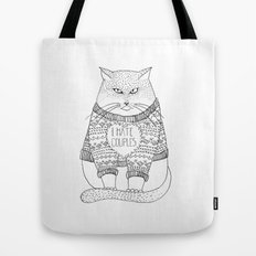 I hate couples. Tote Bag