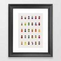Really Super Mario Vs Re… Framed Art Print