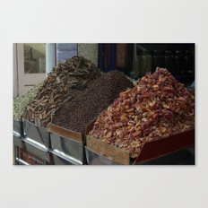 Spice shop Canvas Print