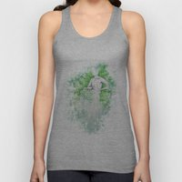 Love as Pain - Anahata in the heart Unisex Tank Top