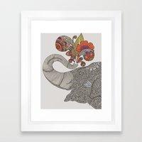 Shower Of Joy Framed Art Print