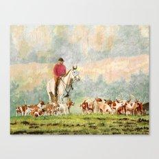 Foxhunt 1 Canvas Print