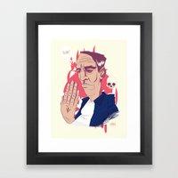 Best Kept Secret Framed Art Print