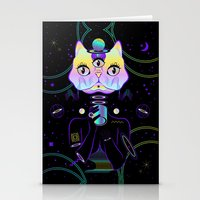 A Cup Of Galaxy! Stationery Cards