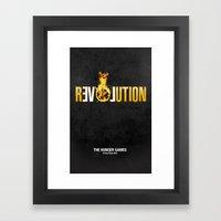 Hunger Games - Revolution Framed Art Print
