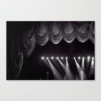 Stage Lights Canvas Print