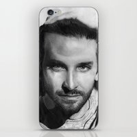 Bradley Cooper Traditional Portrait Print iPhone & iPod Skin