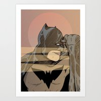 Gotham By Sunrise Art Print