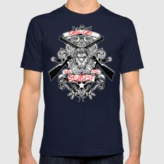 Stop Your Lion Mens Fitted Tee Navy SMALL