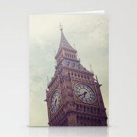 Gloomy Days of London Stationery Cards