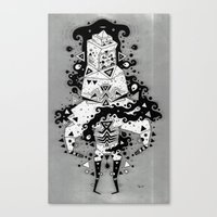 inner spiritzz Canvas Print