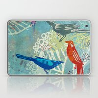 Birds in the backyard. Laptop & iPad Skin