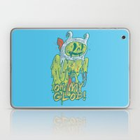 Zombie Finn Laptop & iPad Skin