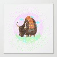 Bison II Canvas Print