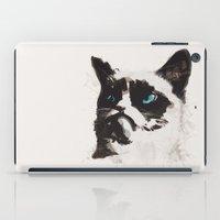 Cat That's Grumpy iPad Case