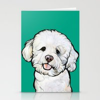 Gracie the Bichon Stationery Cards