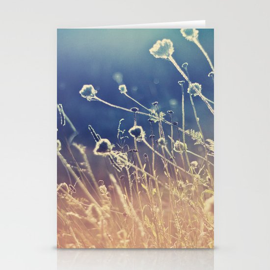 Blue and day  Stationery Card