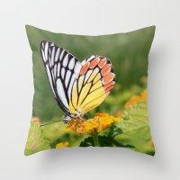 Butterfly (2) Throw Pillow