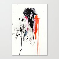 Crush Canvas Print