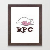 Cats Love Ham Framed Art Print
