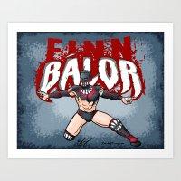 Finn Balor Art Print