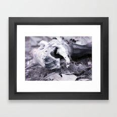 Death in Infrared II Framed Art Print