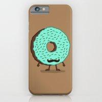 The Mustache Donut iPhone 6 Slim Case