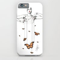 iPhone & iPod Case featuring Butterfly Dance by Libby Watkins Illustration