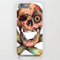 Skull in Color iPhone 6 Slim Case