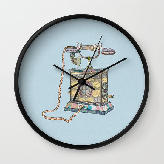 waiting for your call since 1896 Wall Clock