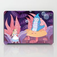 Alice In Wonderland and The Caterpillar iPad Case