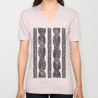 Cable Row Unisex V-Neck