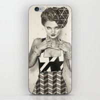 Pattern Girl iPhone & iPod Skin