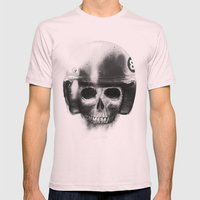 death racer Mens Fitted Tee Light Pink SMALL