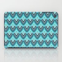 Dragon Scales From A Huge Blue & Green Dragon iPad Case
