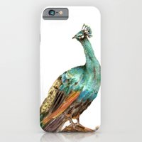 iPhone & iPod Case featuring Peacock by Goosi