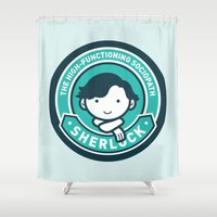Sherlock Shower Curtain